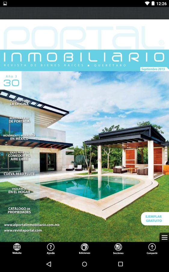 Portal Inmobilario Queretaro- screenshot