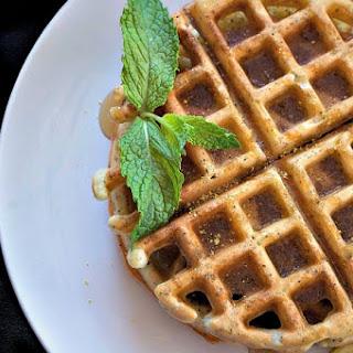 Dairy-Free Lemon Poppy Seed Waffles