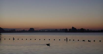 Photo: Het ochtendgloren aan de Binnenmaas