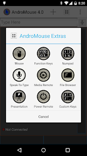 Remote Android Mouse - screenshot thumbnail
