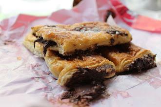 Photo: Napolitanas de chocolate from Mallorquina, a delicious bakery in Sol.