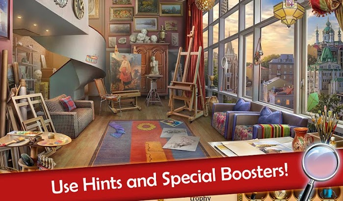 Hidden Objects: Mystery Society HD Free Crime Game screenshot