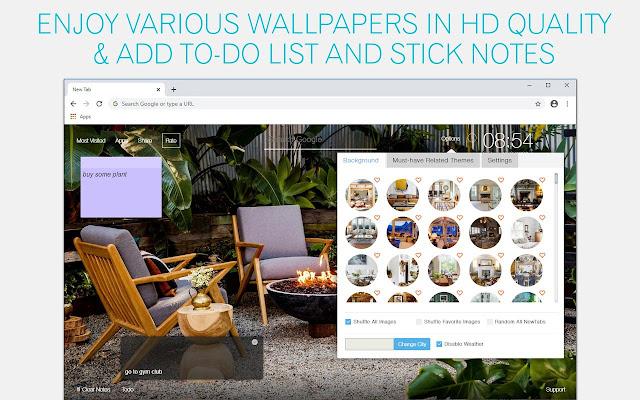 Cozy Home Wallpaper HD Cozy Home New Tab