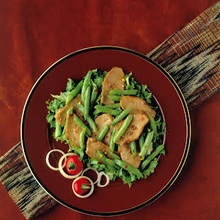Pork and Red Chile Stir-Fry.