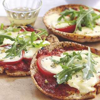 Marinated Mozzarella Pizzas