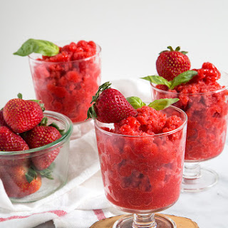 Strawberry Basil Dessert Recipes.