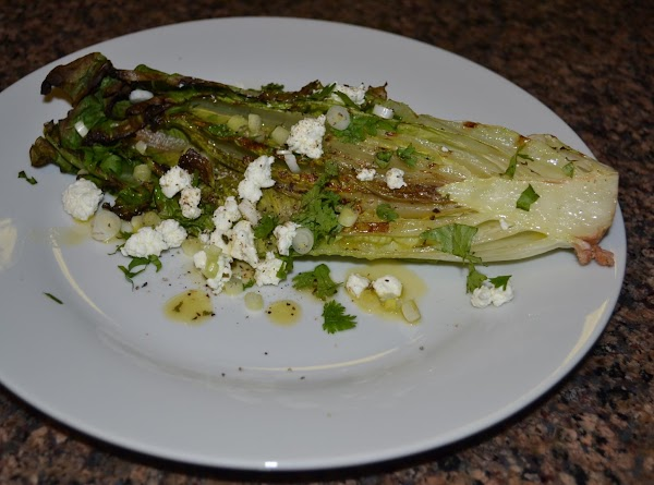 Grilled Romaine With Citrus Herb Vinaigrette Recipe