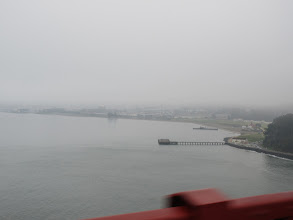Photo: Back toward the wharf and piers of San Francisco