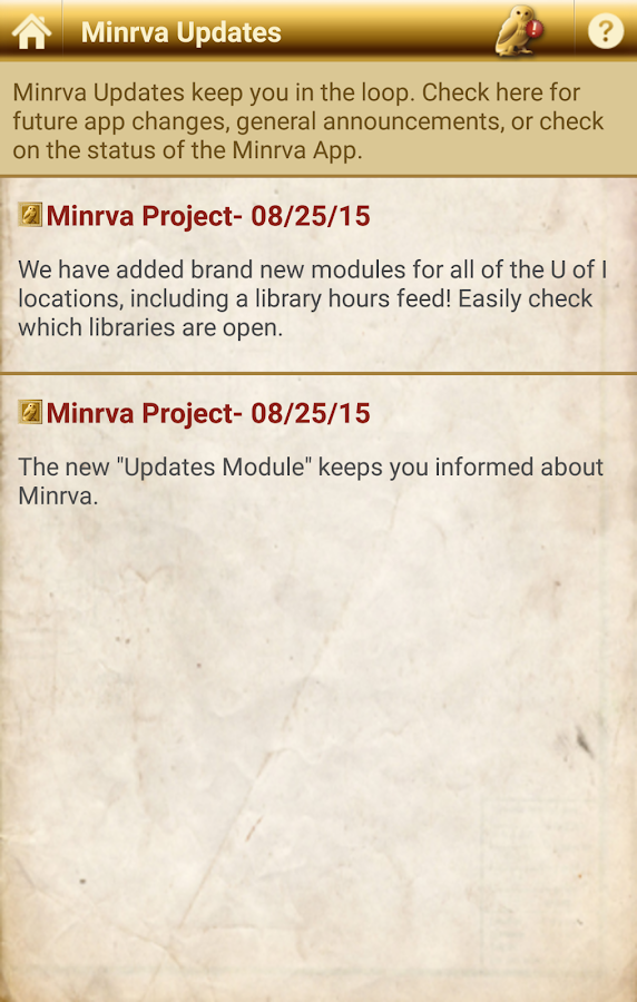 Minrva- screenshot