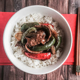Chinese Pepper Steak.
