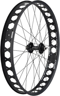 """Quality Wheels Front Pugsley Wheel 26"""" Surly Ultra New QR x 135mm Surly Other Brother Darryl Tubeless 17.5mm O alternate image 2"""