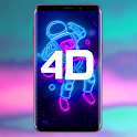 4D Parallax Wallpaper - 3D HD Live Wallpapers 4K icon