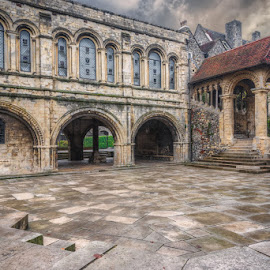 by Krasimir Lazarov - Buildings & Architecture Places of Worship ( kent, united kingdom, canterbury, cathedral, building, architecture )