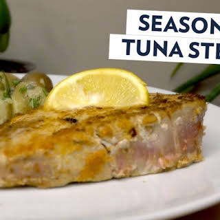 Move Over Chicken! There's A New Protein In Town! Try These Seasoned Tuna Steaks.