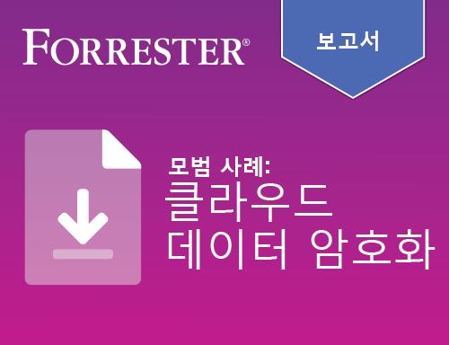 Forrester 보고서