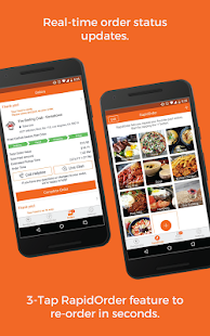 RushOrder: Order Food Delivery, Takeout, & Dine-in- screenshot thumbnail