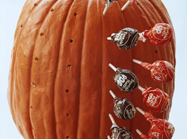 Pumpkin Lollipop Holder Recipe