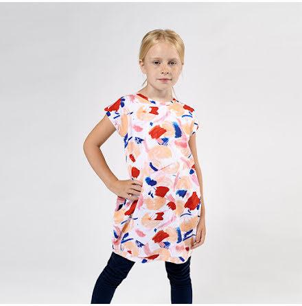 Zara - Mönstrad trikåklänning
