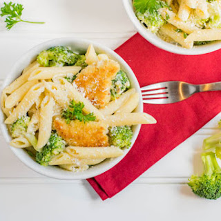 Chicken Broccoli Penne Pasta.