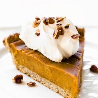 Sweet Potato Pumpkin Pie.