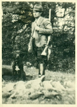 Photo: Karol Rezner podczas polowania lata 30. XX wieku.
