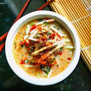 Thai Coconut Cabbage Soup (Paleo).