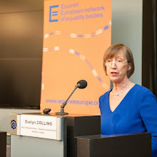 Photo: Welcome Speech by Evelyn Collins (Chair of Equinet)