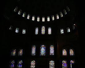 Photo: stained glass in mosque