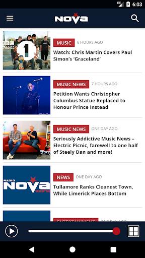Radio Nova – 100FM (Ireland) 1.1.104 screenshots 1