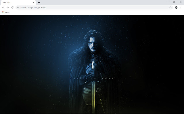 Game of Thrones New Tab Theme