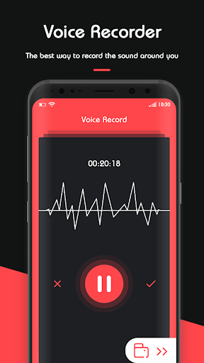 Screenshot for Voice Recorder - Audio Recorder & Sound Recording in United States Play Store