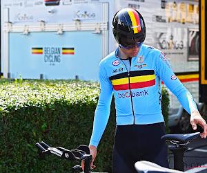 """Sarah De Bie gaat helemaal op in de WK-tijdrit van Wout van Aert: """"Ik vloekte zelfs zo hard dat Georges begon te wenen"""""""