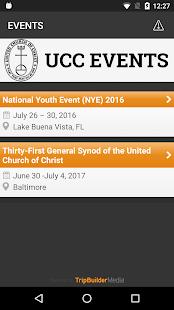 United Church of Christ Events Ekran Görüntüsü