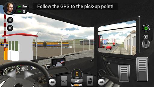 Real Truck Driving Simulator filehippodl screenshot 5