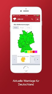 Deutsches Unwetterradar - náhled