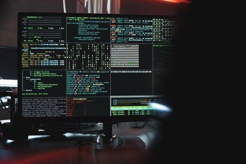 Black Flat Screen Computer Monitor