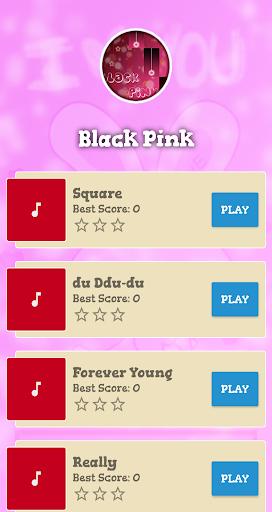 Black Pink Piano Game 1.0 screenshots 3