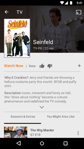 SonyCrackle–Free TV & Movies screenshot 8
