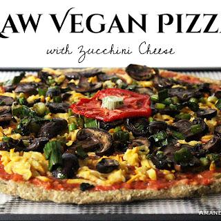 Raw Vegan Pizza.