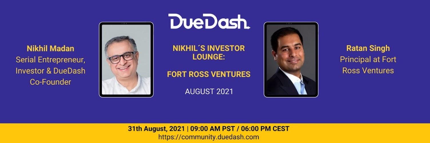 Nikhil's Investor Lounge: Fort Ross Ventures