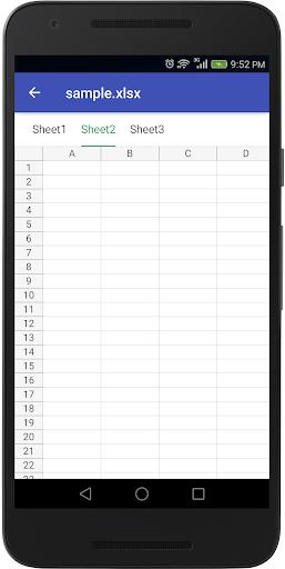 Document Viewer - Word, Excel, Docs, Slide & Sheet 1.0 screenshots 3