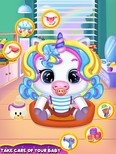 My little unicorn baby daycare activities screenshot 1