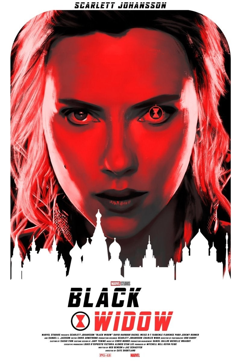 Image result for black widow fan poster