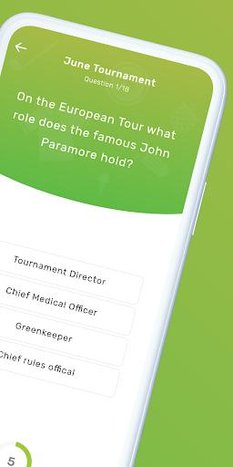 GolfQuizz: Golf quizzes for real fans ⛳ screenshots 2