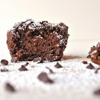 Gluten Free Double Chocolate Cinnamon Ricotta Muffins