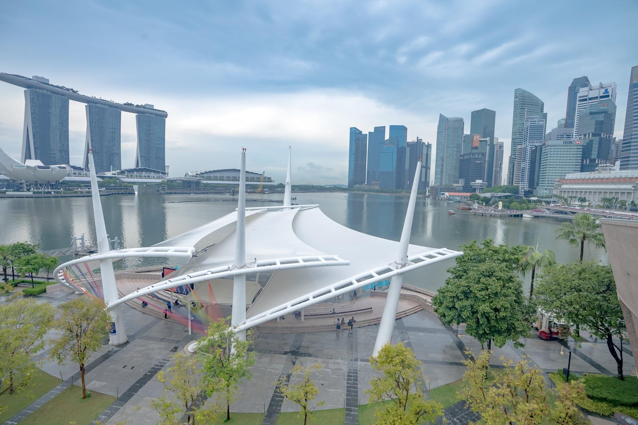 シンガポール エスプラネード Roof Terrace1