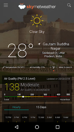 Skymet Weather 4.14 screenshots 1