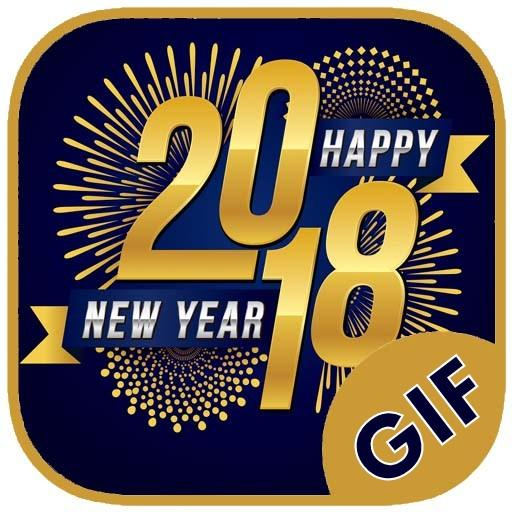 Happy New Year GIF - (2018) – Apps bei Google Play