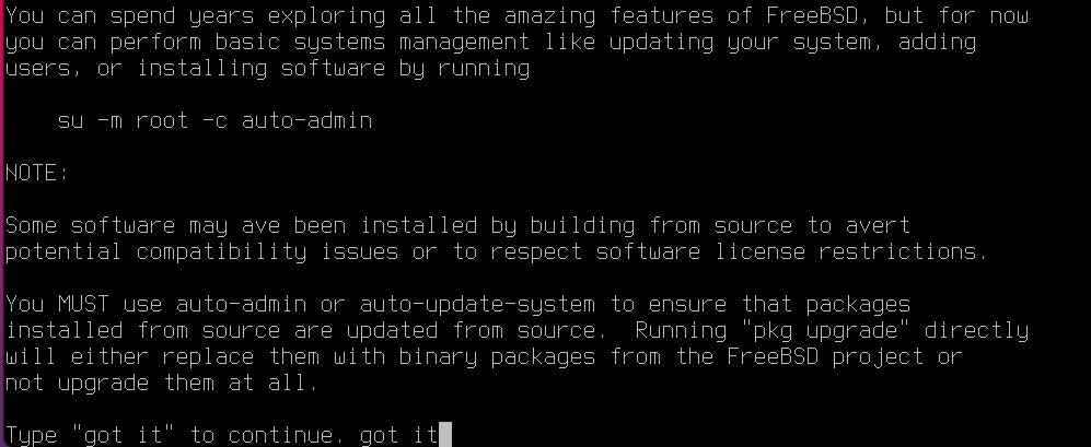 Install Desktop Admin on FreeBSD with KDE. Source: nudesystems.com