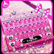 Pink Glitter Minny Keyboard Theme APK